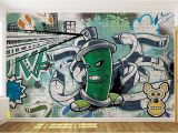 How to Paint A Wall Mural Step by Step Cool Graffiti Spray Can 2 Wallpaper Mural Amazon
