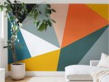 How to Paint A Wall Mural with A Projector 60 Best Geometric Wall Art Paint Design Ideas 1