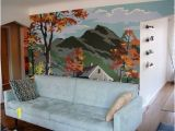 How to Paint A Wall Mural with A Projector before & after Scott Cheryl S Mural Wall In 2019