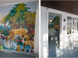 How to Paint A Wall Mural with A Projector Diy Paint by Number Round Up Painting by Numbers