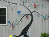 How to Paint An Outdoor Wall Mural Wall Mural original Design and Painting by Mary Clare