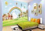 How to Paint Grass On A Wall Mural 3d Sun Rainbow Grass 735