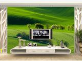How to Paint Grass On A Wall Mural 3d Wall Paper Custom Silk Wallpaper Mural Nature Landscape Painting Woods Shade Grass Tv sofa 3d Background Mural Wallpaper Free for