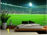 How to Paint Grass On A Wall Mural Football Stadium Wallpaper Mural 306ve Boudy