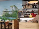 How to Paint On A Wall Mural the Strange and Interesting Mural Painted On the Wall that
