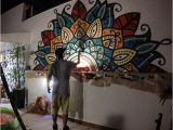 How to Paint Over A Wall Mural Pin by Perperdepero On Mandala