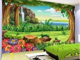 How to Price A Wall Mural Painting Amazon 3d Wallpaper Children Cartoon forest Landscape