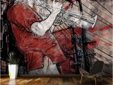 How to Project Mural On Wall Street Saxophone Player