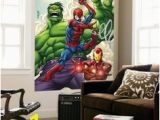 How to Transfer Mural On Wall New Power Rangers Smashed Wall Childrens Wall Stickers Wall