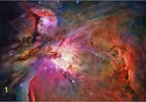 Hubble Deep Field Wall Mural Galactic Nebula Space Wall Mural