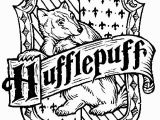 Hufflepuff Crest Coloring Page 19 Best Coloring for Kids Images On Pinterest