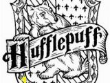 Hufflepuff Crest Coloring Page 232 Best Color It Images