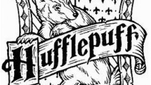 Hufflepuff Crest Coloring Page 392 Best Hufflepuff Images