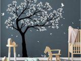 Huge Wall Mural Stickers Tree Wall Decal Tree Decals Huge Tree Decal Nursery