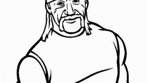 Hulk Hogan Coloring Pages Free Hulk Hogan Coloring Page