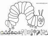 Hungry Caterpillar Coloring Pages Very Hungry Caterpillar Coloring Pages Free Download 28 Eric Carle