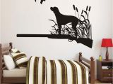 Hunting Mural Wallpaper Birds Hunting Dogs Wall Stickers Active Hobbies Hunter Art Mural
