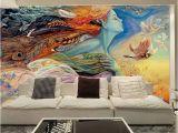 Hunting Mural Wallpaper Custom Mural Wallpaper 3d Abstract Figure Graffiti Painting Cinema
