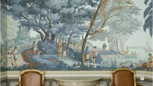 Hunting Mural Wallpaper Grisaille Murals Wallpapers Art Screens Part Ii