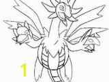 "Hydreigon Coloring Pages 157 Best ¬ì¼""몬색칠공부 Images On Pinterest"