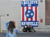 "I Believe In Nashville Wall Mural the Famous Nashville Tn Flag Mural ""i Believe In Nashville"