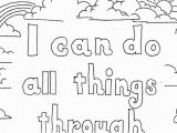 I Can Do All Things Coloring Page Coloring Pages for Kids by Mr Adron Philippians 4 13