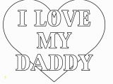 I Love Dad Coloring Pages Fathers Day Card Coloring Pages Free