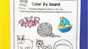 I Spy Coloring Pages I Spy Alphabet Letters Color by Beginning sound Alphabet