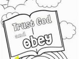 I Will Obey Coloring Page 418 Best Bible Class Images