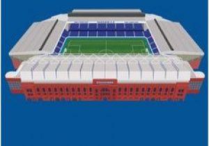 Ibrox Stadium Wall Mural Rangers F C
