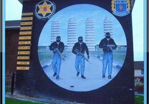 Ibrox Stadium Wall Mural Ulster Defence association [uff] Mural Rathcoole