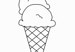 Ice Cream Cone Coloring Pages Printable Ice Cream Cone Coloring Pages to Print Cookie Best Pri
