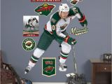 Ice Hockey Wall Murals Fathead Minnesota Wild Ryan Suter Wall Decals