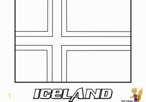 Iceland Flag Coloring Page Unique Iceland Flag Coloring Page Flower Coloring Pages