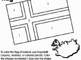 Iceland Flag Coloring Page Use Crayola Crayons Colored Pencils or Markers to Color the Flag