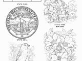 Idaho State Symbols Coloring Pages Iowa State Symbols Coloring Page Free Printable Pages with Mofassel