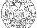 Idaho State Symbols Coloring Pages Popular Idaho State Symbols Coloring Pages for Kids Countries