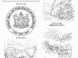 Idaho State Symbols Coloring Pages States Coloring Pages Maryland State Symbols Page Free Printable at