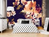 Ideas for Wall Murals for Bedrooms Removable Wallpaper Mural Peel & Stick Vintage Watercolor