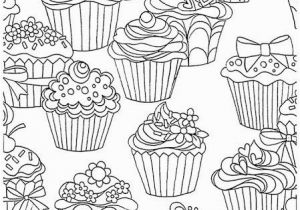 If You Give A Cat A Cupcake Coloring Page Cupcakes Pattern Free Printable Adult Coloring Pages