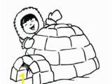 Igloo Printable Coloring Page Printable Coloring Page Eskimo – Pusat Hobi