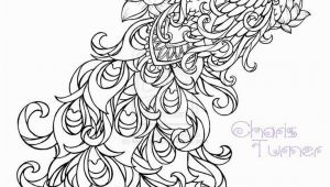 Impressionist Coloring Pages Realistic Peacock Coloring Pages Free Coloring Page Printable
