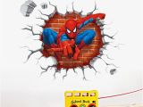 Incredible Hulk Wall Mural Us $2 57 Off Neue 3d Spiderman Wandaufkleber Für Kinderzimmer Aufkleber Home Decor Personalisierte Kinder Kindergarten Wandaufkleber Dekoration