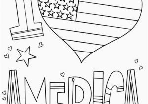 Independence Day Coloring Pages Printable American Flag Coloring Page Pdf Inspirational I Love America