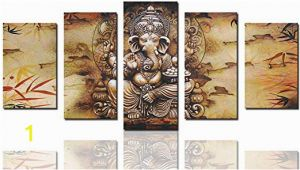 India Wall Murals Suppliers Canvas Art Prints Framed Hindu Fairy Wall Art India Ganesha Yoga Goddess Elephant Wall Decor