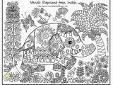Indian Coloring Pages for Kids Elephant to Print Awesome Color Page New Children Colouring