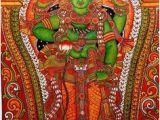 Indian Mural Painting Tutorial 355 Best Kerala Mural Painting Images In 2019
