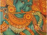 Indian Mural Painting Tutorial 370 Best Kerala Mural Painting Images In 2019