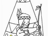 Indians Coloring Pages for Kids Native American Patterns Printables