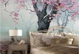Indoor Mural Paint Custom Murals 3d Indoor Flower Design Murals Retro Style Oil